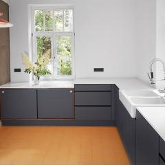 design kitchen Fenix hpl