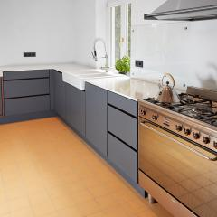 design kitchen Fenix hpl