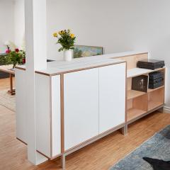 tv lift sideboard 1